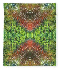 Visions Of The Spiritual Seeker #1462 Fleece Blanket
