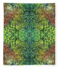 Visions Of The Spiritual Seeker #1463 Fleece Blanket