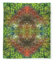 Visions Of The Spiritual Seeker #1464 Fleece Blanket