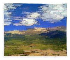 Vista Hills Fleece Blanket