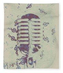 Vocal Harmony Fleece Blanket