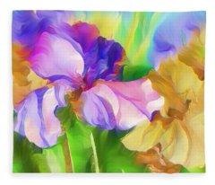 Voices Of Spring Fleece Blanket