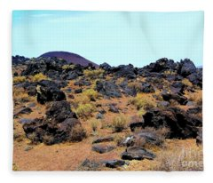Volcanic Field Fleece Blanket