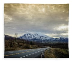 Volcanic Road Fleece Blanket
