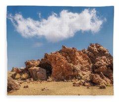 Volcanic Rocks Fleece Blanket