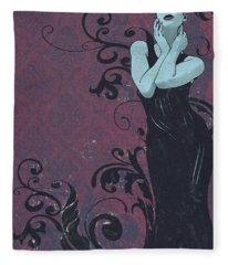 Voluted Fleece Blanket