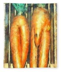 Voodoo Carrots - Da Fleece Blanket