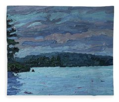 Voyageur Highway Fleece Blanket