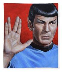 Vulcan Farewell Fleece Blanket