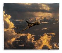 Vulcan Flying Forever Fleece Blanket