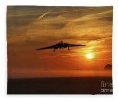 Vulcan Return To Base Fleece Blanket