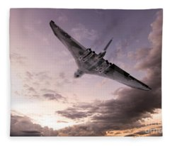Vulcan The Final Flight  Fleece Blanket