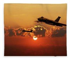 Vulcans Inbound Fleece Blanket