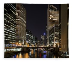 Wacker Avenue Fleece Blanket