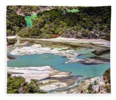 Wai 0 Tapu, New Zealand Fleece Blanket