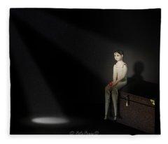 Waiting For Love Fleece Blanket