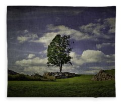 Wake Me Up When September Ends Fleece Blanket