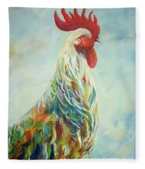 Wake Up Call Fleece Blanket