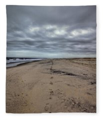 Walk The Line Fleece Blanket