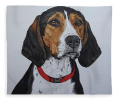 Walker Coonhound - Cooper Fleece Blanket
