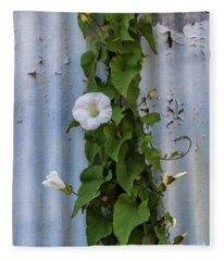 Wall Flower Fleece Blanket