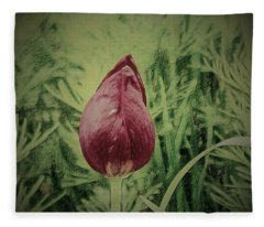 Wall Flower Fleece Blanket