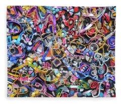 Wall Jewelry 3r Fleece Blanket