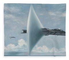 Wall Of Sound Redcocks Style Fleece Blanket