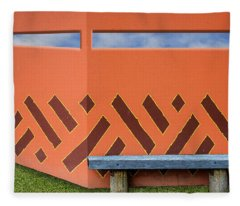 Wall With A View Fleece Blanket
