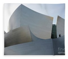 Walt Disney Concert Hall 11 Fleece Blanket