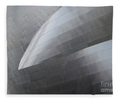 Walt Disney Concert Hall 12 Fleece Blanket