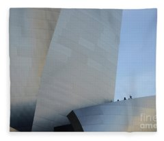 Walt Disney Concert Hall 13 Fleece Blanket