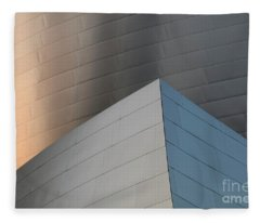 Walt Disney Concert Hall 16 Fleece Blanket