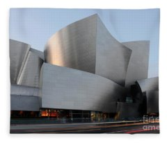 Walt Disney Concert Hall 17 Fleece Blanket