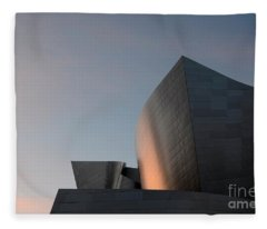 Walt Disney Concert Hall 18 Fleece Blanket