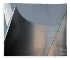 Walt Disney Concert Hall 23 Fleece Blanket