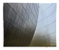 Walt Disney Concert Hall 4 Fleece Blanket