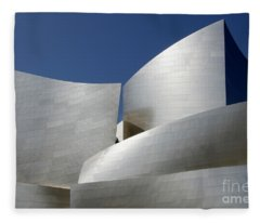 Walt Disney Concert Hall 40 Fleece Blanket