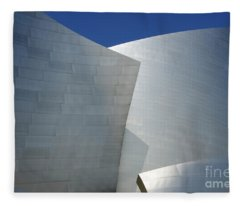 Walt Disney Concert Hall 43 Fleece Blanket