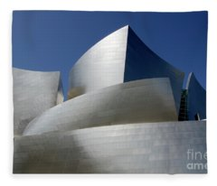 Walt Disney Concert Hall 45 Fleece Blanket