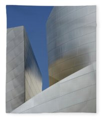 Walt Disney Concert Hall 47 Fleece Blanket