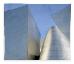 Walt Disney Concert Hall 7 Fleece Blanket