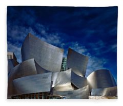 Walt Disney Concert Hall Fleece Blanket