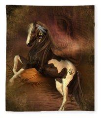 War Horse 2 Fleece Blanket