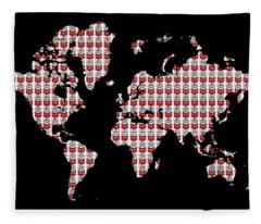 Warhol's World Fleece Blanket