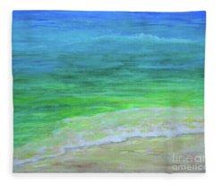 Warm Waters Fleece Blanket