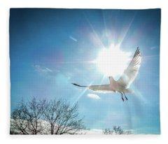 Warmed Wings Fleece Blanket