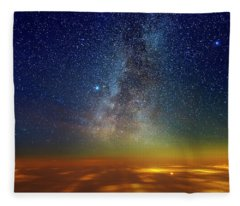 Warp Speed Fleece Blanket