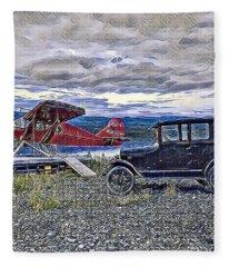 Warren's Passion Fleece Blanket