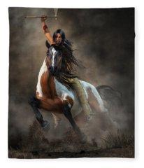 Warrior Fleece Blanket